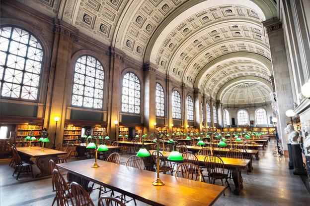 کتابخانه بوستون