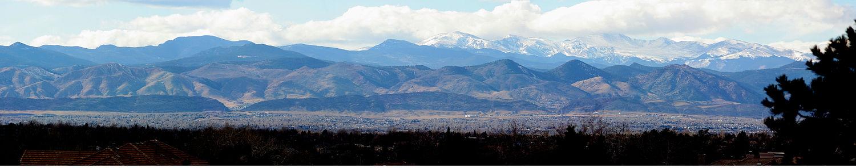 دامنه جلویی کوه های راکی، دنور، کلرادو