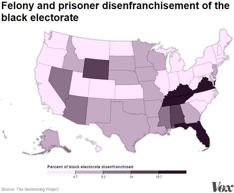 black electorate disenfranchisement