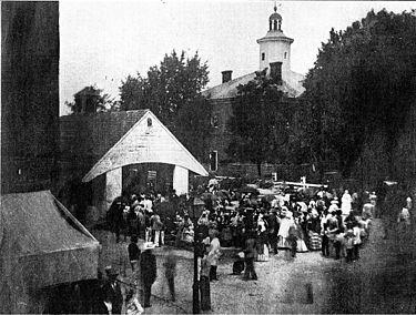 خرید و فروش برده در ایستون، مریلند آمریکا.