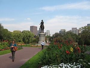 بوستان عمومی شهر بوستون