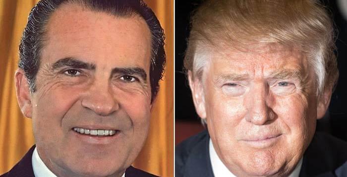 دونالد-ترامپ-و-نیکسون
