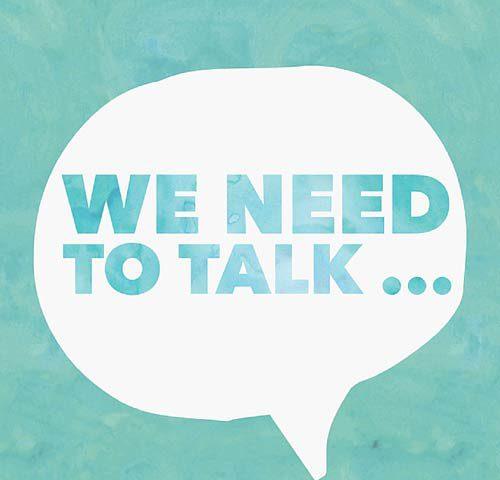 باید صحبت کنیم