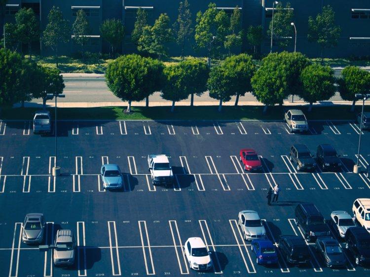 جاده هاو پارکینگ ها