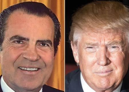 دونالد-ترامپ-ریچارد-نیکسون