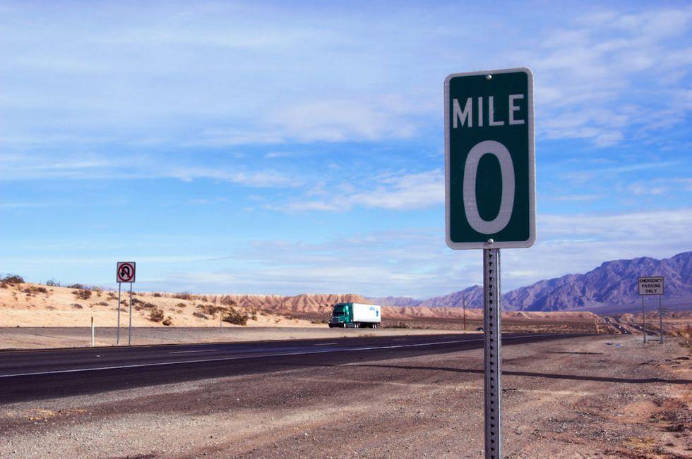 اندازه گیری فاصله در آمریکا