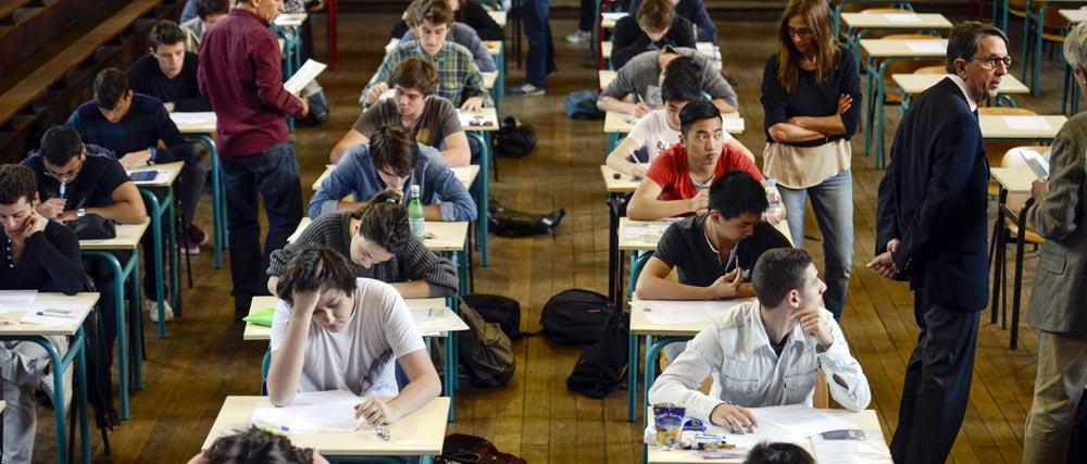 FRANCE-EDUCATION-BACCALAUREAT