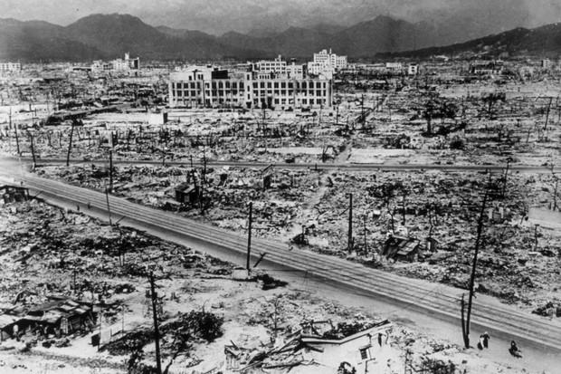 Atom Bomb Damage