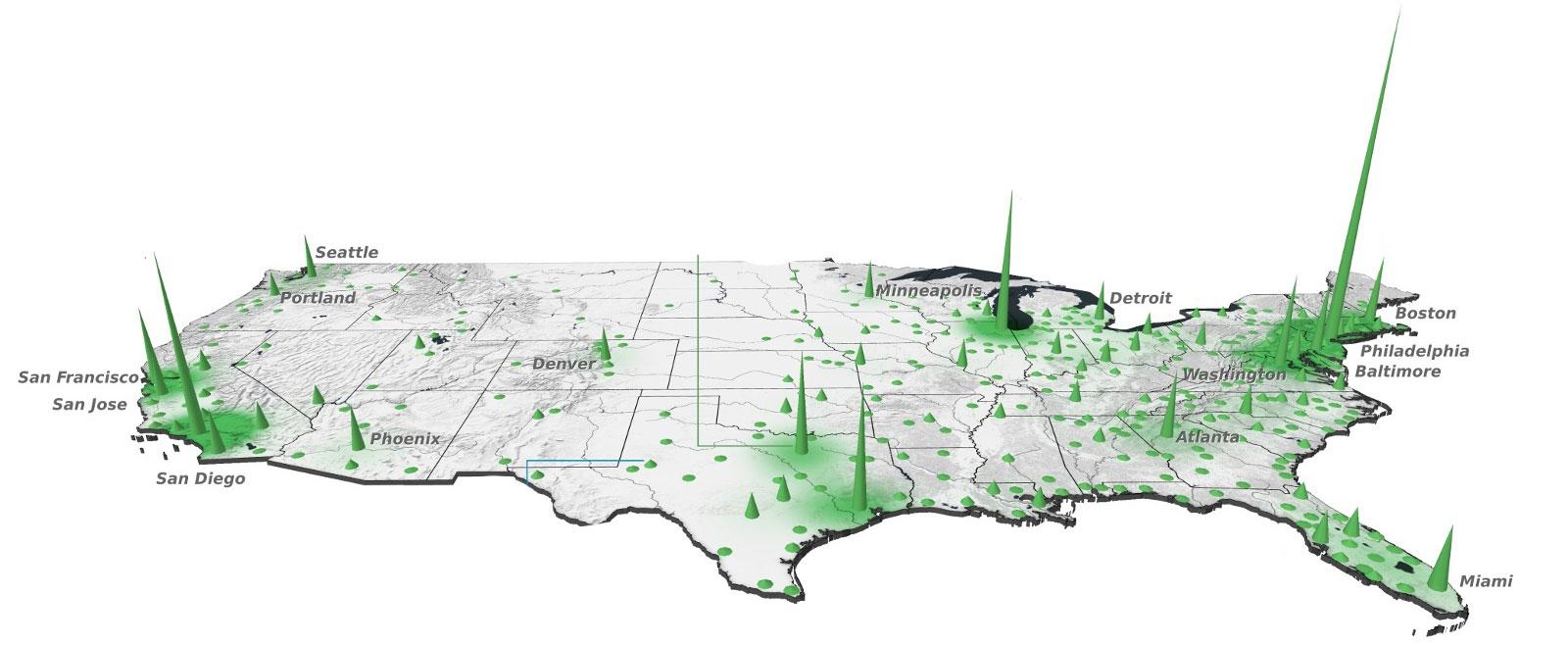وسعتِ-اقتصادیِ-هریک-از-ایالتهای-آمریکا-چقدر-است؟