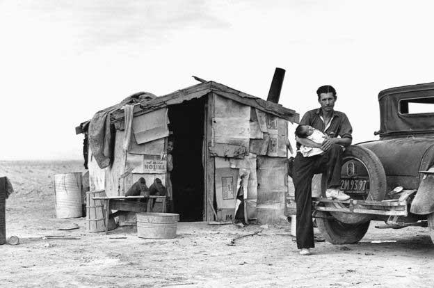 یک-کارگرِ-مهاجر-در-کالیفرنیا،-1937