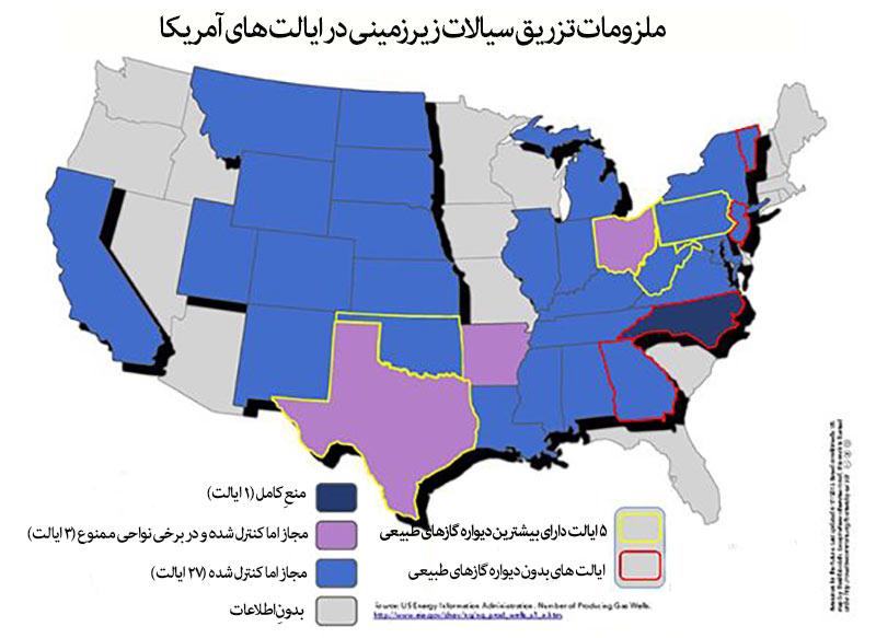 قوانینِ-ایالتهای-آمریکا-درباره-ی-تخلیه-ی-پساب-ها-به-درونِ-زمین
